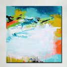 Hand-Painted Abstract Art Painting On Canvas Perfect Abstract Wall Art For Home/offiece Decor