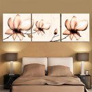 Prints Poster Wall Painting Colorful Flower Home Decorative  Pictures Print On Canvas  3pcs/set (W