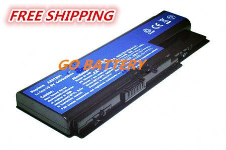 Replacement for ACER  8730G, 8730Z, 8730ZG, 8930, 8930G Series, TravelMate 7230, 7530 laptop battery