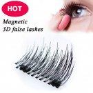 Easy 3D False Eyelashes Double Magnet Full Strip Magnetic Soft Hair