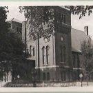 PRESBYTERIAN CHURCH FAIRFIED, IOWA 1948 VINTAGE RPPC REAL PHOTO POSTCARD