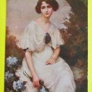 Fashion Glamour Girl Woman Gown-A/S Camille Prouvost-Antique Vintage Postcard