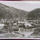 VIRGINIA CITY, NEVADA USA - LOOKING DOWN on TOWN VIEW & MILL RPPC PHOTO POSTCARD