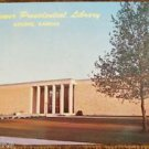 Eisenhower Presidental Library-Abilene, Kansas-Vintage Building Postcard