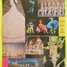 Dunes Hotel Las Vegas Casino de Paris Mlle Line Renaud/Sultans Table 2 Postcards