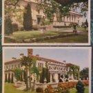 Lot of 2 Huntington Library & Art Gallery-San Marino, Calif Vintage Postcard
