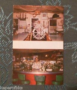 Berts Landing-Lobster Shop-Plymouth Landing, Massachusetts-Vintage 60s Postcard