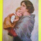 Mother & Child-A/S Willi Scheuermann-Antique Vintage A. R. & C. Berlin Postcard