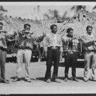 Hunters-Everglades Seminole Native American Indian Village-Real Photo Postcard