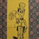 Pat Paulsen for President-Vote or Get off the POT!-Vintage 1968 Match Book Cover