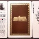 Man Juggles Train Cars UTLX + Score Card-Original VTG RR Joker Swap Playing Card