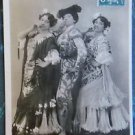 3 PARIS PRETTY LADY GYPSIES SMOKING CIGS-VINTAGE RISQUE 1907 RPPC PHOTO POSTCARD