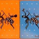 CAKE WALK AFRICAN AMERICAN BLACK AMERICANA 20s VINTAGE SWAP PLAYING CARD PAIR