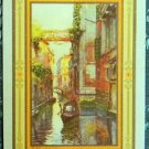 """VENICE"" - c. 1912 USPC CO. ANTIQUE VINTAGE USWN WIDE NAMED SWAP PLAYING CARD"
