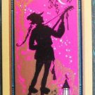 """""""TROUBADOUR"""" SILHOUETTE VINTAGE USNN NARROW NAMED SWAP PLAYING CARD NAMED"""