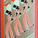 KENTUCKY-BLACK AMERICANA AFRICAN AMERICAN-VINTAGE UKNN NAMED SWAP PLAYING CARD