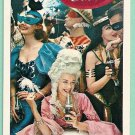 COCA COLA MASQUERADE BALL HALLOWEEN NEW YEAR EVE PARTY VINTAGE SWAP PLAYING CARD
