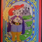 """""""Cat in Boots"""" by Lizzy Rockwell MODERN WIDE NAMED SWAP PLAYING CARD Single"""