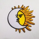 The sun and The moon punk rock patch.