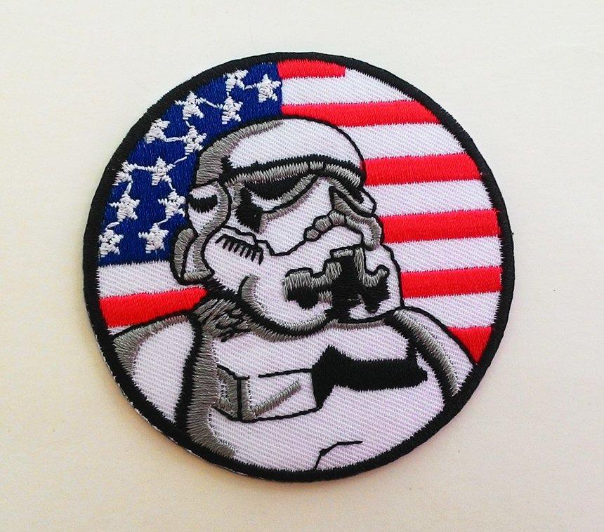 America Aeronaut Iron On Patch.