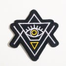 Eye Of Providence Illuminati Iron On Patch.