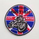 Vintage British Cafe racer Iron on Patch.