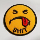Shit emoji patch.