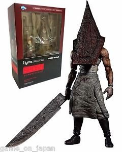 Silent Hill 2 Figure Red Pyramid Head Figma Action Figure Silent Hill Statue