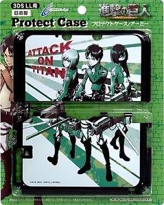 Attack On Titan Shingeki no Kyojin Nintendo 3DS LL XL Hard Cover Japan Import