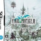 Final Fantasy 3 FFIII Nintendo DS Game Japanese Import RPG USED