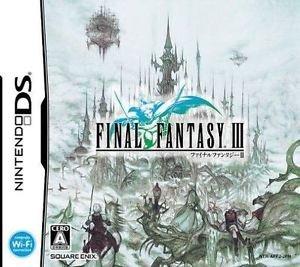 Final Fantasy 3 FFIII Nintendo DS Game Japanese Import RPG USED