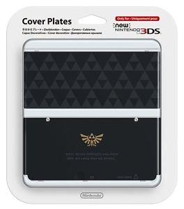 Legend Of Zelda New Nintendo 3DS Cover Plate Triforce Kisekae Plate Japan Import