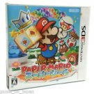 Paper Mario Super Seal Sticker Star Nintendo 3DS Game Japanese Import RPG Used