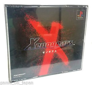 Xenogears PS1 Japanese RPG Japan Import Rare Used