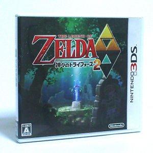 Legend of Zelda A Link Between Worlds Nintendo 3DS Game Japan Import RPG Used