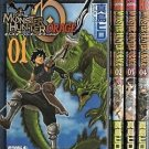 Monster Hunter Orage Manga Japanese Capcom Import set of 4 books Used