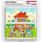 Animal Crossing New Nintendo 3DS  Kisekae Plate Doubutsu no Mori Cover Japan