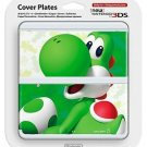 Yoshi Super Mario New Nintendo 3DS Cover Mario Bros Kisekae Plate Japan Import