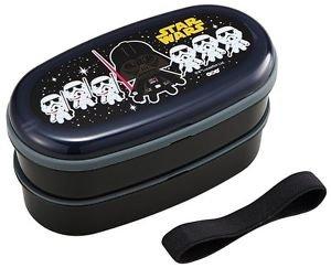 Star Wars Lunch Box set 2 tier Container Japanese Bento Box Kids Japan School