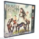 Bravely Default for the Sequel Nintendo 3DS RPG Japanes Version Multi-Language