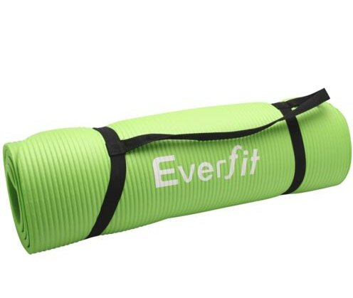 Yoga Gym Pilates NBR Form Mat 10mm Thick Green