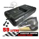 Caravan Camping Fresh Water Tank 59 Litres Underbody Trailer 4WD Motor 4x4 59L