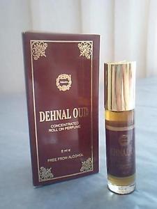 Ambrosial 8ml Dehnal Oud Attar 100% Natural Pure Perfume Oil