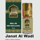 Ambrosial 8ml Janat Al Wadi Attar 100% Natural Pure Perfume Oil