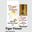 Ambrosial 3ml Tiger Flower Attar 100% Natural Pure Perfume Oil
