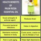 Ambrosial Palmarosa Essential Oil Pure Natural Organic Uncut Undiluted