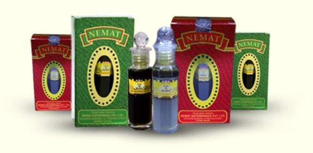Nemat Gulab 96 25ml Attar Perfume Oil Alcohol Free Natural