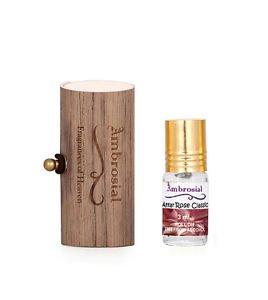 Ambrosial Gift Set 3ml-1 Attar Rose 100% Natural Pure Perfume Oil