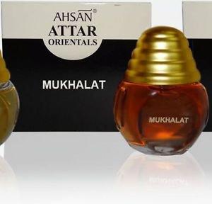 Ambrosial 20ml Mukhalat Attar 100% Natural Pure Perfume Oil