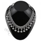 Oxidised White Metal Handcrafted Indian Ethnic Women Gypsy Necklace Jewelry 08